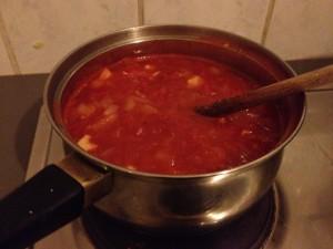רוטב עגבניות. חייב להיות מתוק