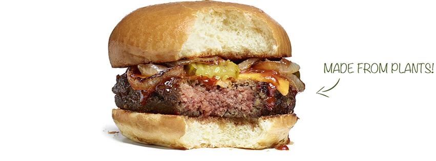 המבורגר צמחי (שאפילו מדמם!) של Impossible Foods. המהפכה כבר כאן. (צילום מתוך האתר של Impossible Foods)