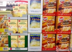 אבקות קנודל להכנה מהירה על המדף בסופרמרקט